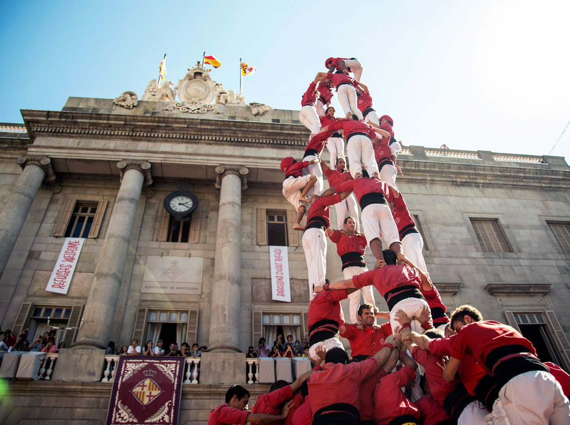 img catalonia castellers