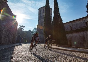 Road cycling in Barcelona
